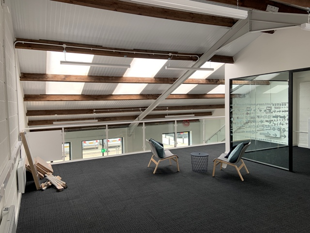 Grainstore office to rent L1-L2